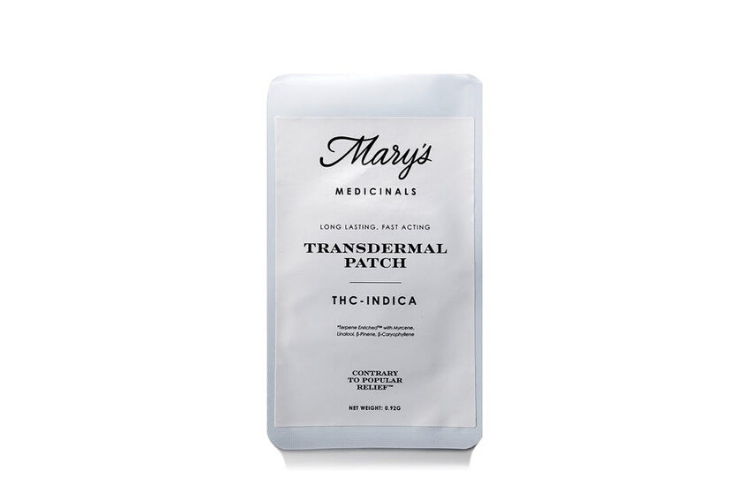 Cannabis Gift Guide Mary's Medicinals: Indica Patch