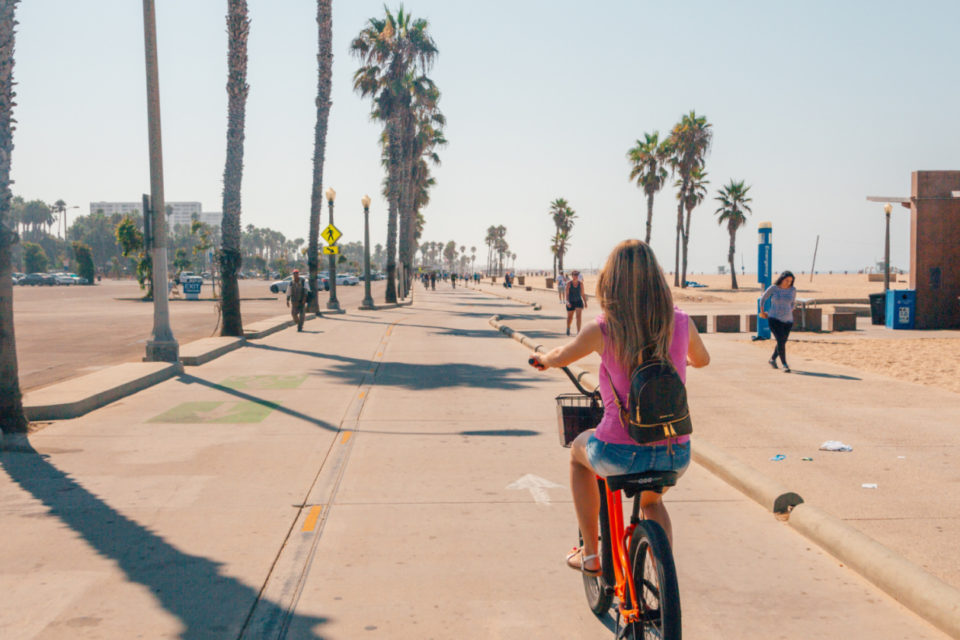 Venice Beach Bike Path