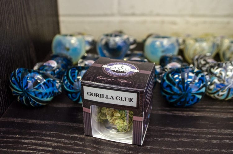 seattles top cannabis products july greenside recreational seattles private reserve gorilla glue